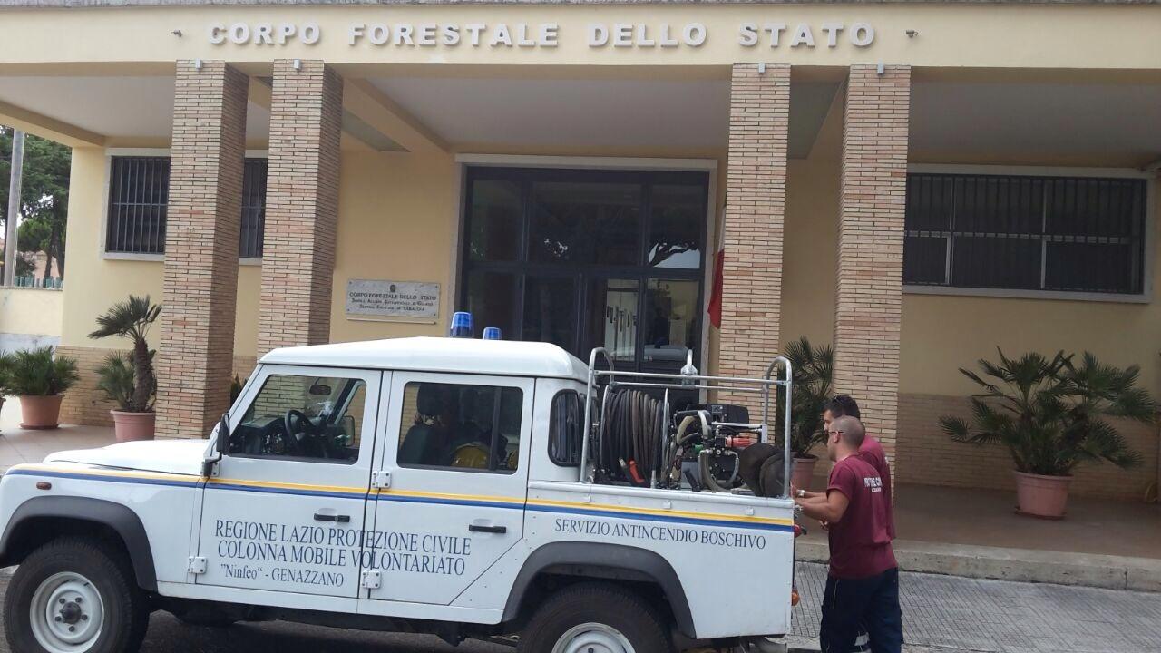 L'impegno del COREIR per il contrasto agli incendi nella provincia di Latina