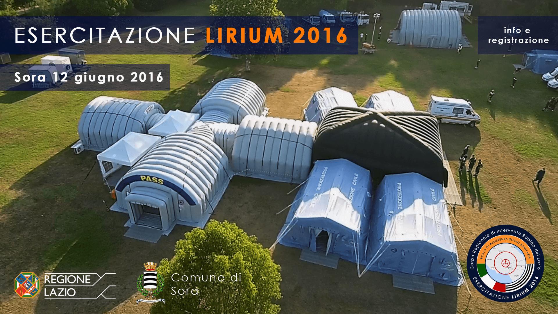 Esercitazione LIRIUM 2016