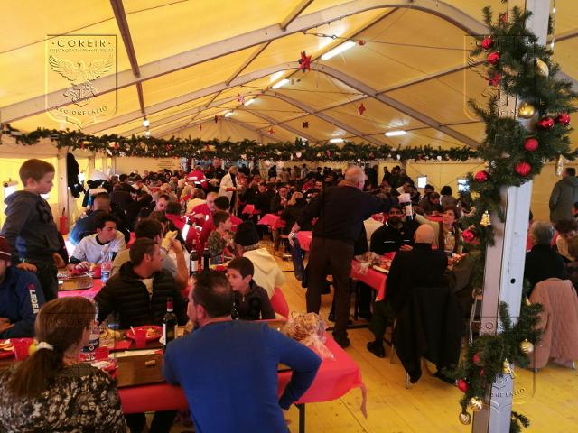 Sisma Centro Italia – Pranzo di Natale