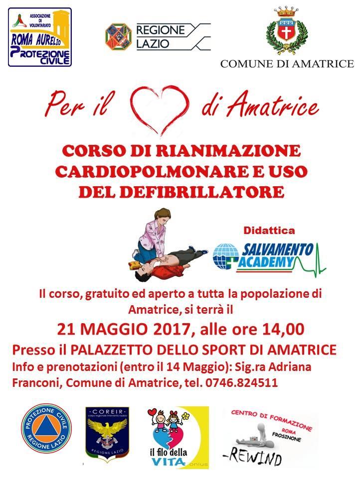Sisma Centro Italia – Per il cuore di Amatrice